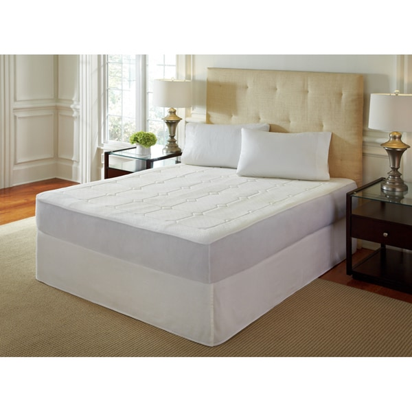 Chic King Size Memory Foam Mattress Topper Purerest 05 Inch Quilted Queenkingcal King Size Memory Foam