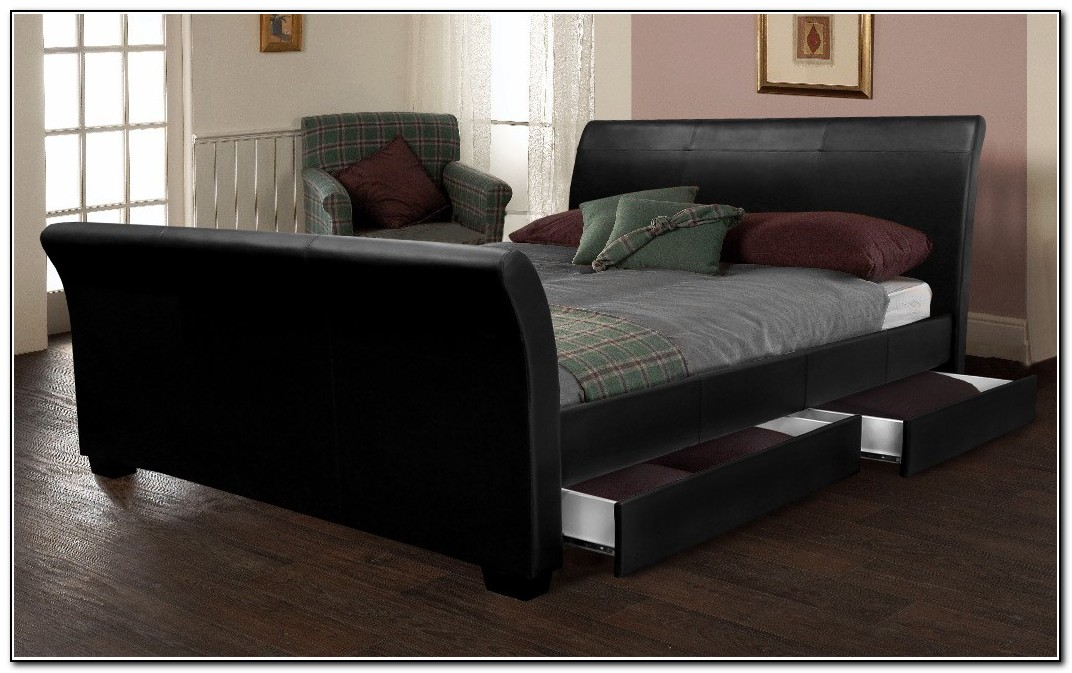 Chic King Size Sleigh Bed Frame Ashley Furniture King Sleigh Bed Leather Best Choice Ashley