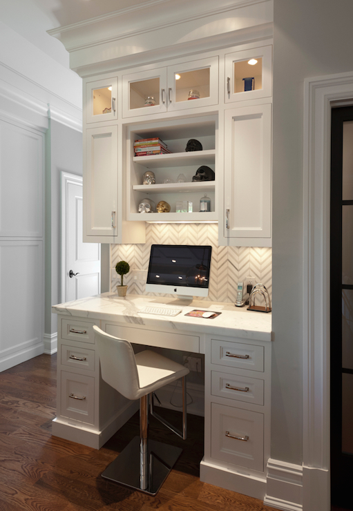 Chic Kitchen Desk Ideas Built In Kitchen Desk Design Ideas