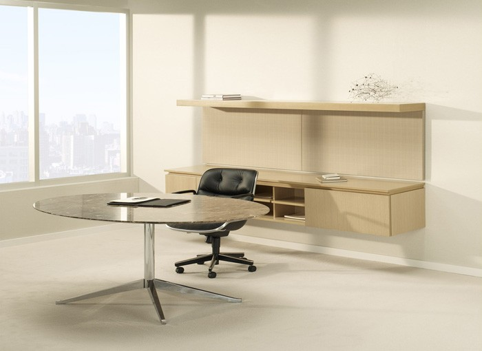 Chic Knoll Office Desk Knoll Florence Round Table Desk Modern Planet