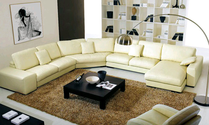 Chic Large Leather Sectional Couch Compare Prices On Leather Sectional Online Shoppingbuy Low Price