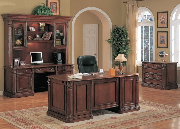 Chic Large Wooden Office Desk Best 25 Executive Office Decor Ideas On Pinterest Executive
