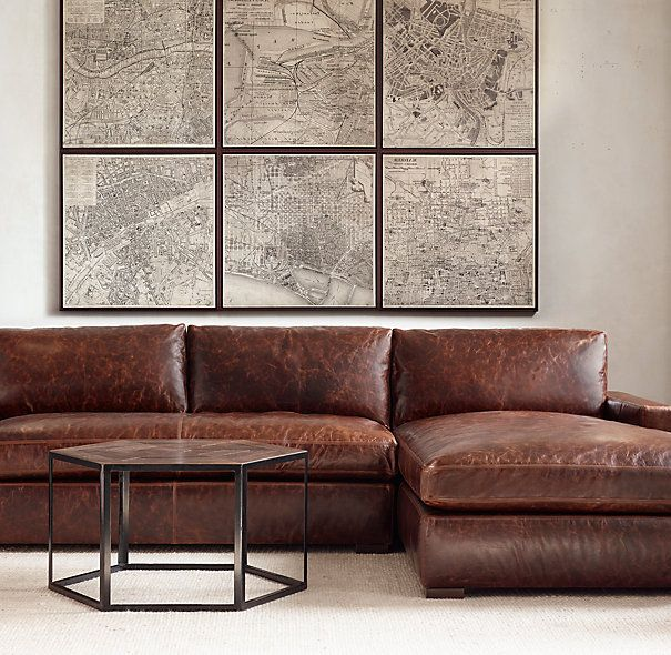 Chic Leather Couch With Chaise Best 25 Leather Chaise Sofa Ideas On Pinterest Leather