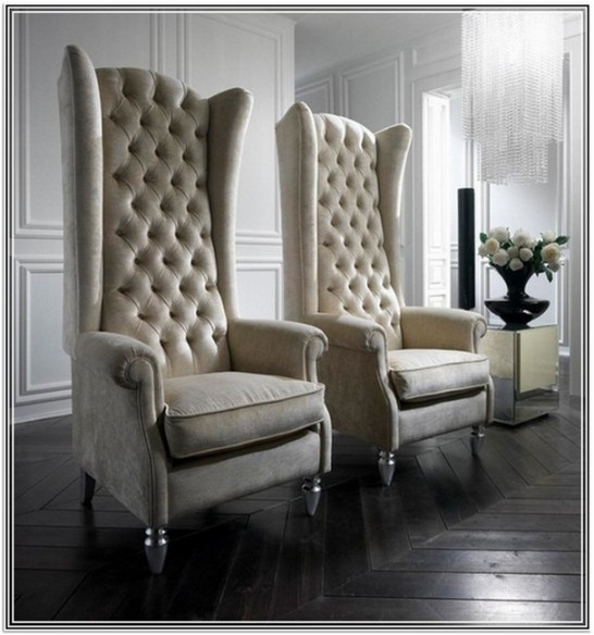 Chic Leather High Back Chairs Living Room Product Printer Friendly Page High Back Living Room Chair Tall