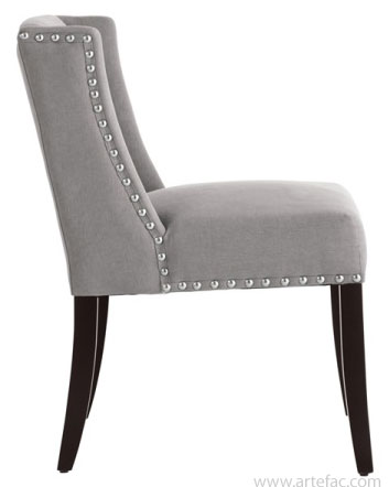 Chic Low Back Dining Chairs Leather Parson Dining Room Kitchen Chairs Low Back Wing