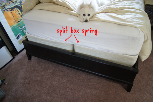Chic Low Box Spring Queen Queen Box Spring