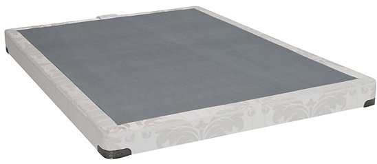Chic Low Profile Box Spring And Mattress Queen Or King Low Profile Box Spring