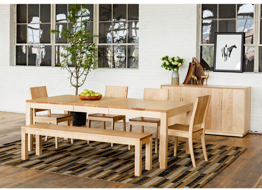 Chic Maple Dining Chairs Dining Chairs The Joinery Portland Oregon
