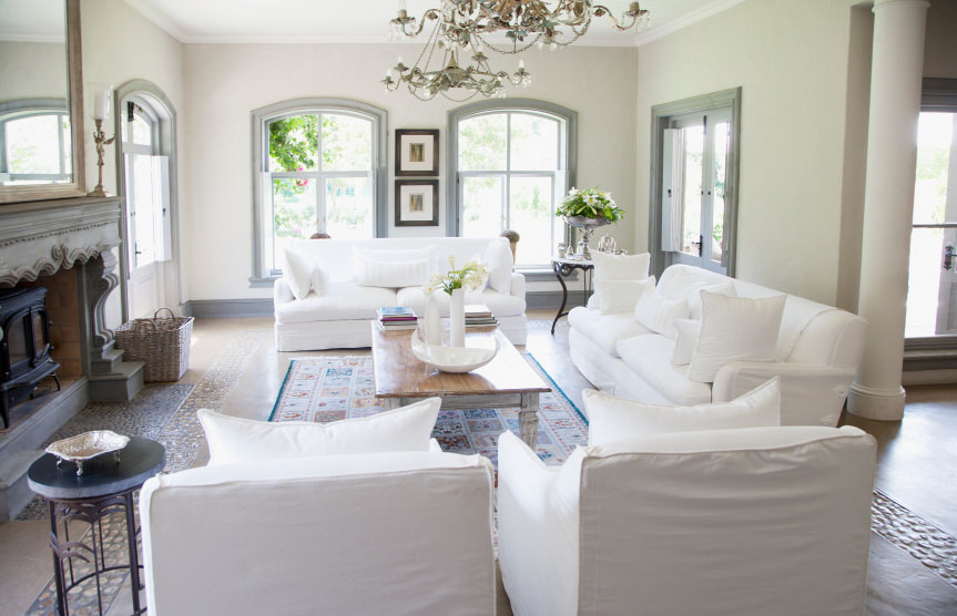 Chic Matching Living Room Furniture Sets 72 Living Rooms With White Furniture Sofas And Chairs