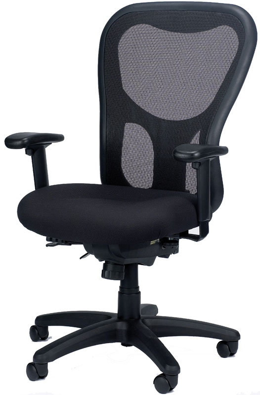 Chic Mesh Back Office Chair Eurotech Mm95sl Apollo Mesh Back Fabric Seat Office Chair With
