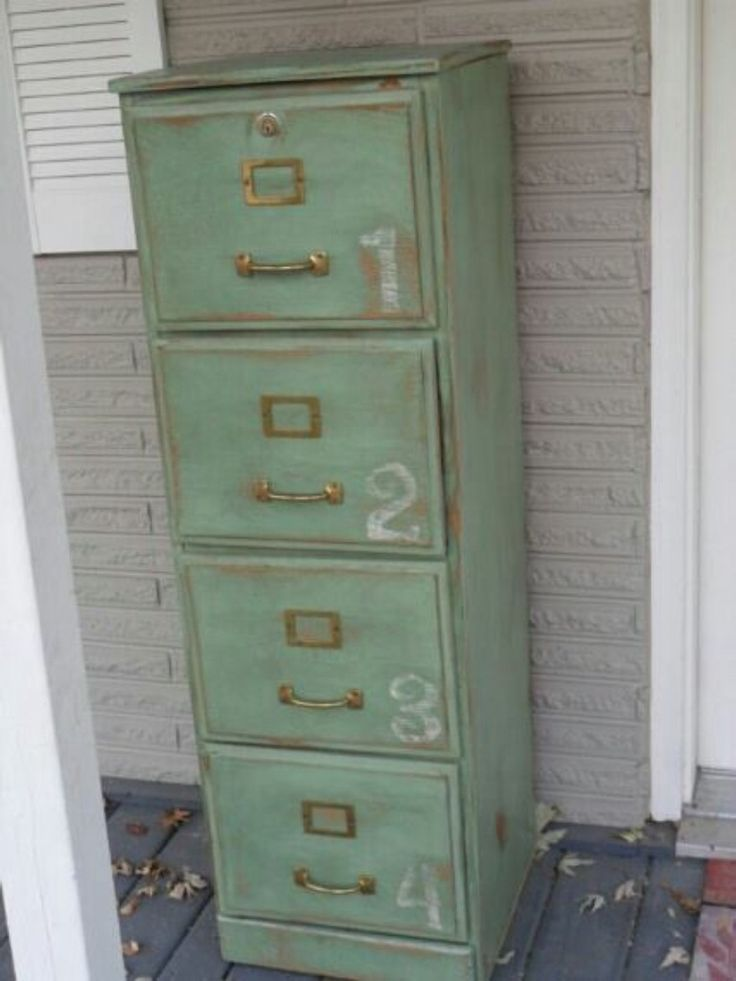 Chic Metal Filing Cabinet Best 25 Painting Metal Cabinets Ideas On Pinterest Painted File