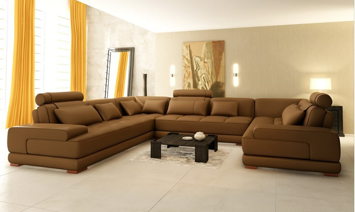Chic Microfiber U Shaped Sectional Best U Shaped Sectional Sofa Part Ii S3net Sectional Sofas