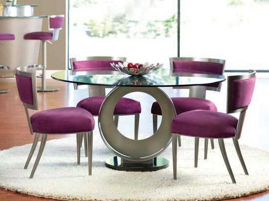 Chic Modern Round Dining Room Tables Modern Round Dining Room Table Fascinating Ideas Dining Room The