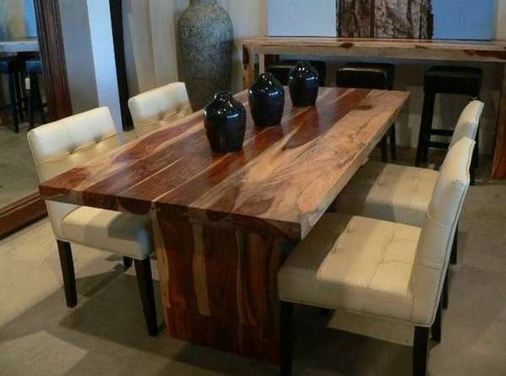 Chic Modern Wood Dining Table Incredible Solid Wood Dining Table Dining Table Solid Wood Dining