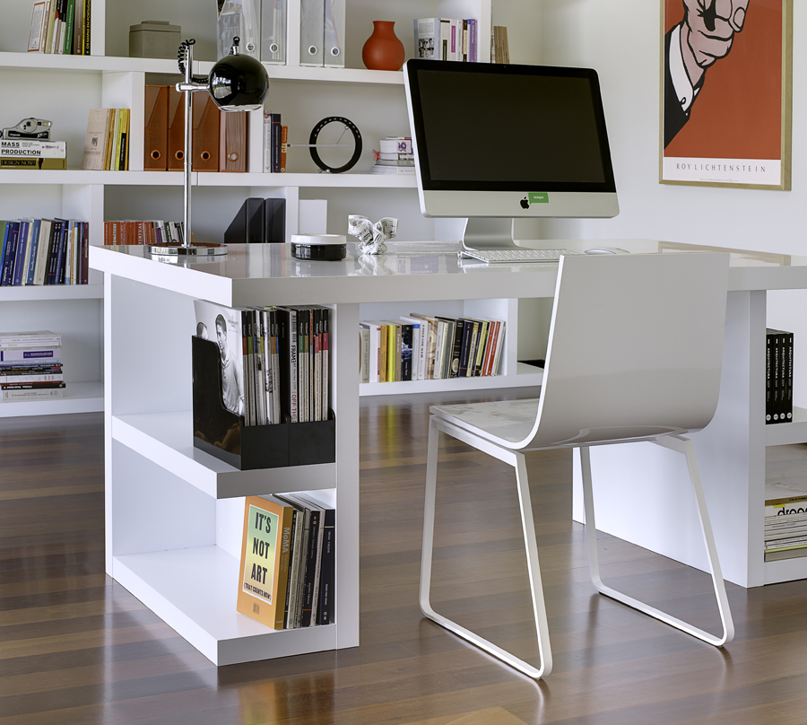 Chic Modular Desks Home Office Alluring Modern Home Office Desks And Best Contemporary Home