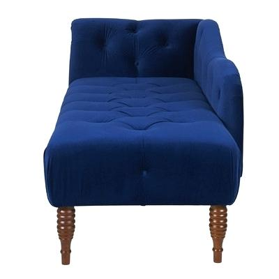 Chic Navy Blue Chaise Lounge Indoor Navy Blue Chaise Lounge Bankruptcyattorneycorona
