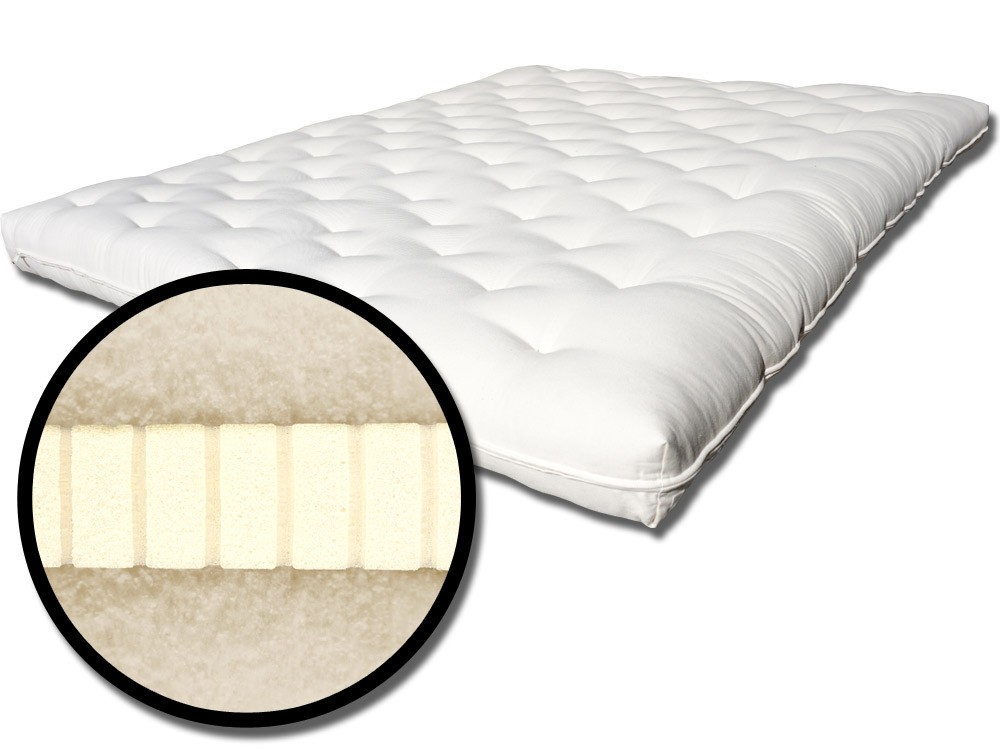 Chic Non Toxic Memory Foam Topper Creating Chemical Free Mattresses