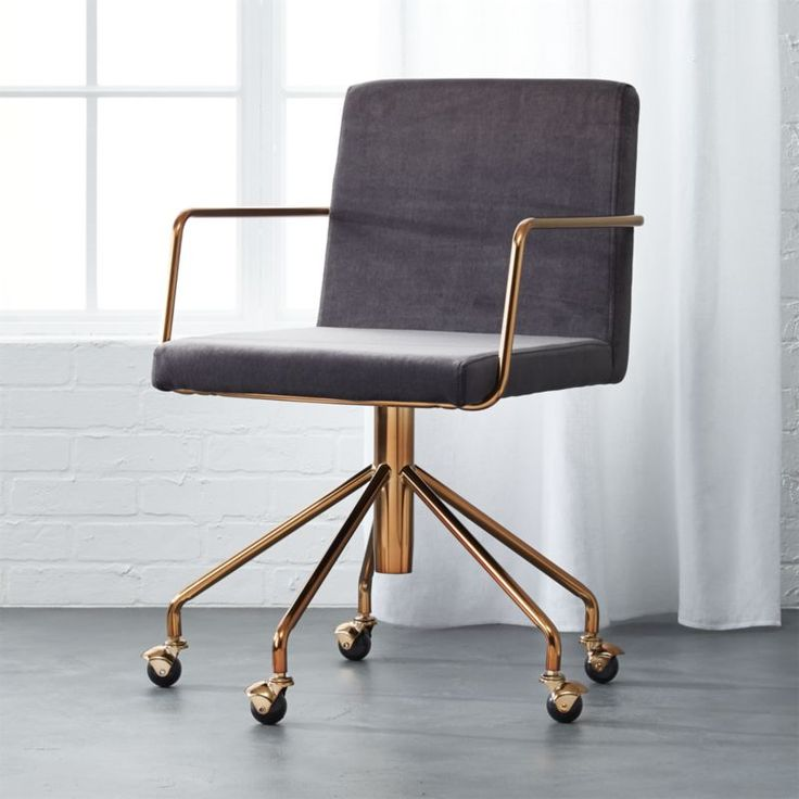 Chic Office Chair Home Office Splendid Design Inspiration Sleek Office Chair Charming Decoration