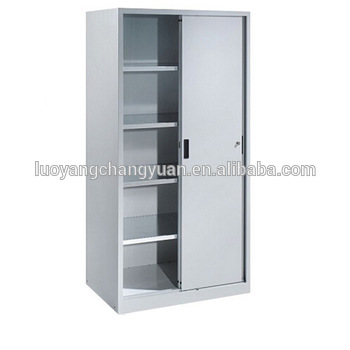 Chic Office File Rack Quick Delievery Low Price 2 Sliding Door Filing Cabinet Office