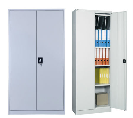 Chic Office Filing Cabinets Metal Office Furniture 2 Door Steel Office Filing Cabinet Swing Door
