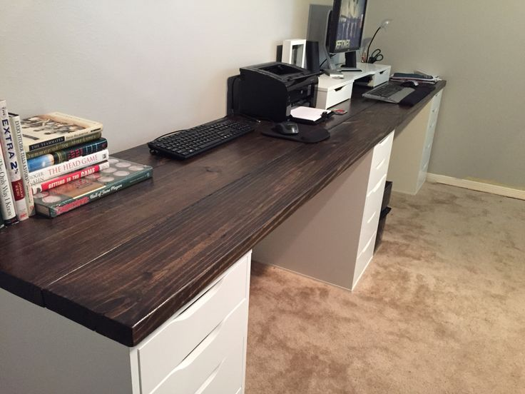 Chic Office Worktop Desk Best 25 Long Desk Ideas On Pinterest Cheap Desks For Sale