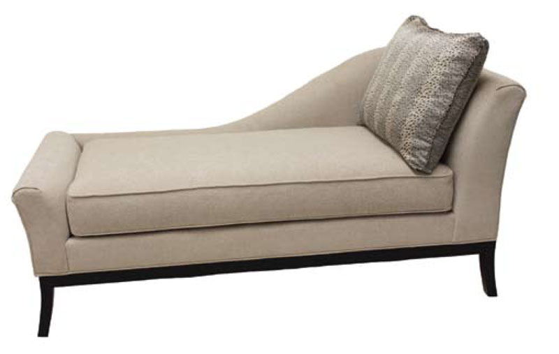Chic One Arm Chaise Lounge 3811 Right Arm Facing Chaise Lounge Ohio Hardwood Furniture