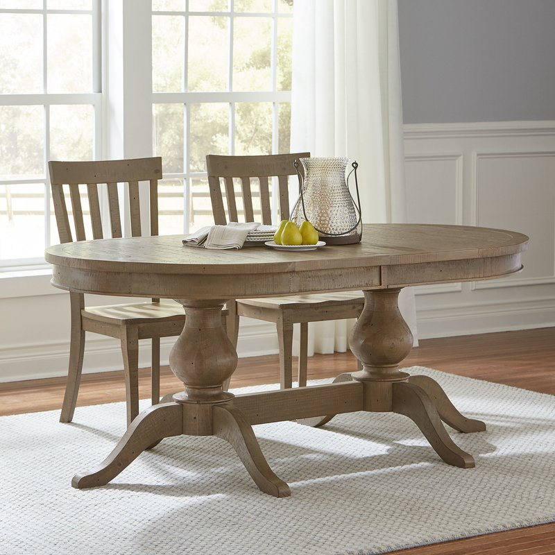 Chic Oval Dining Room Table Oval Kitchen Dining Tables Youll Love Wayfair