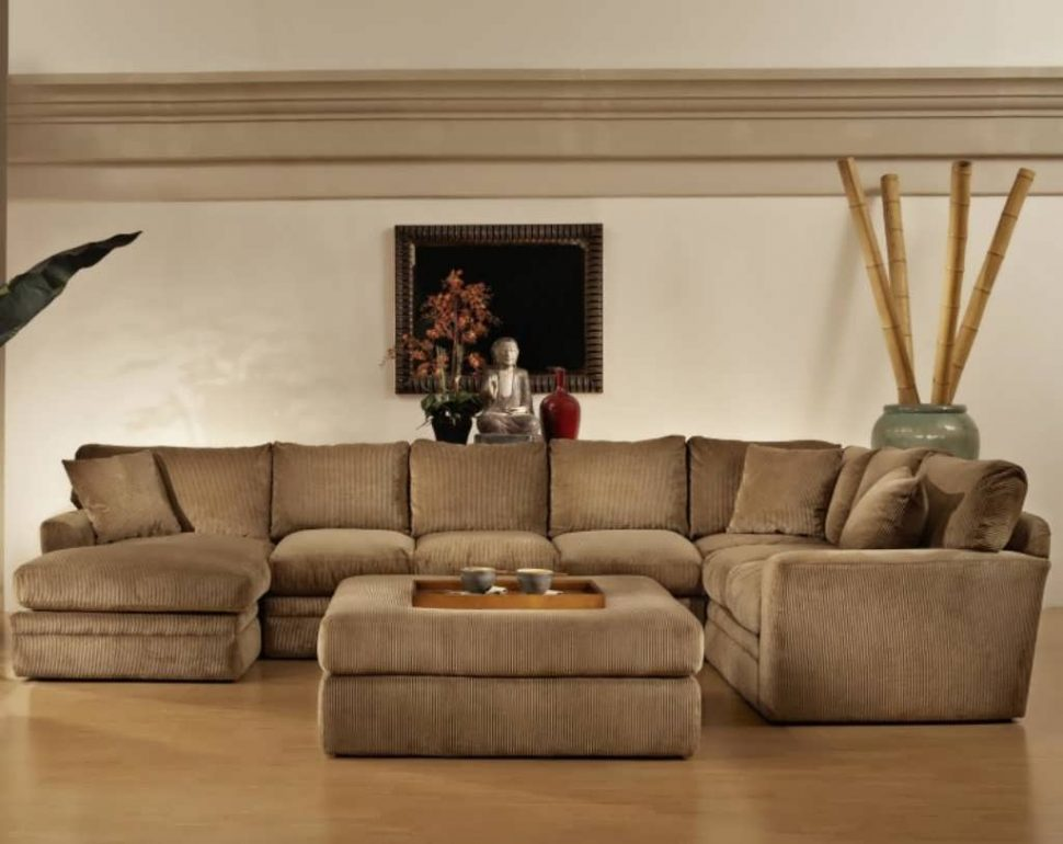 Chic Oversized Sectionals With Chaise Sofa Oversized Sectionals Brown Leather Sectional Cheap