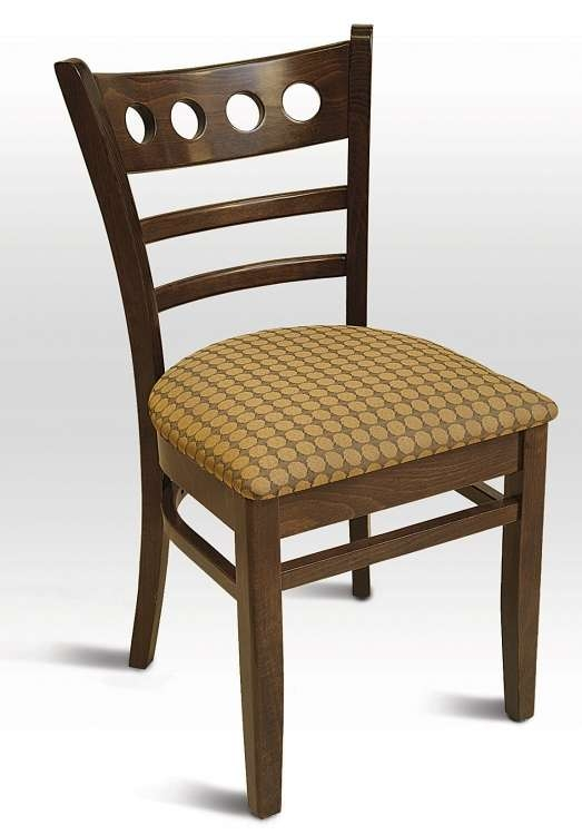 Chic Padded Seat Dining Chairs Padded Wood Dining Chairs Insurserviceonline