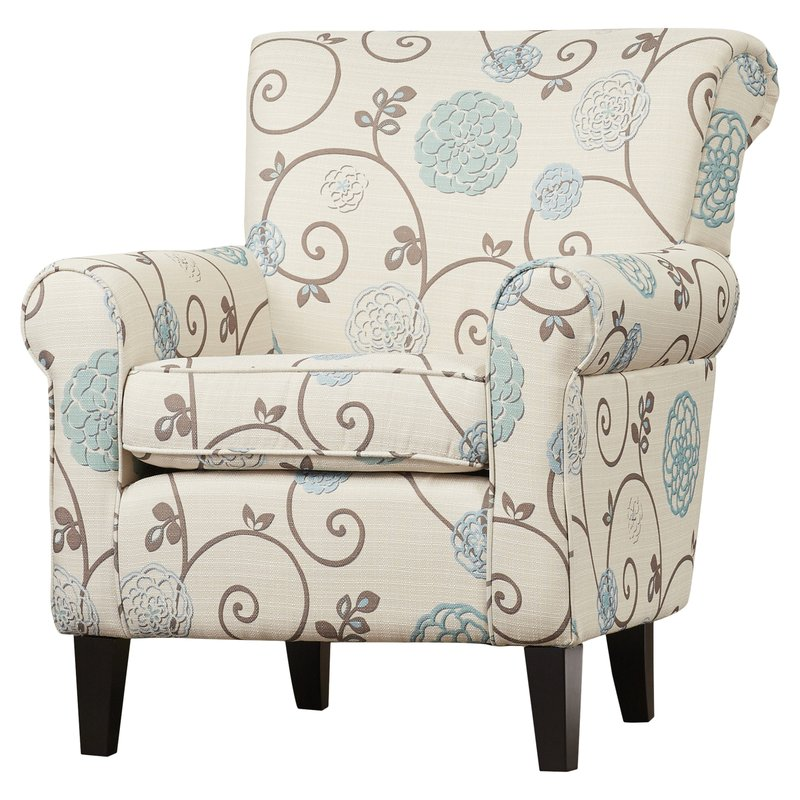 Chic Patterned Chair And A Half Accent Chairs Joss Main