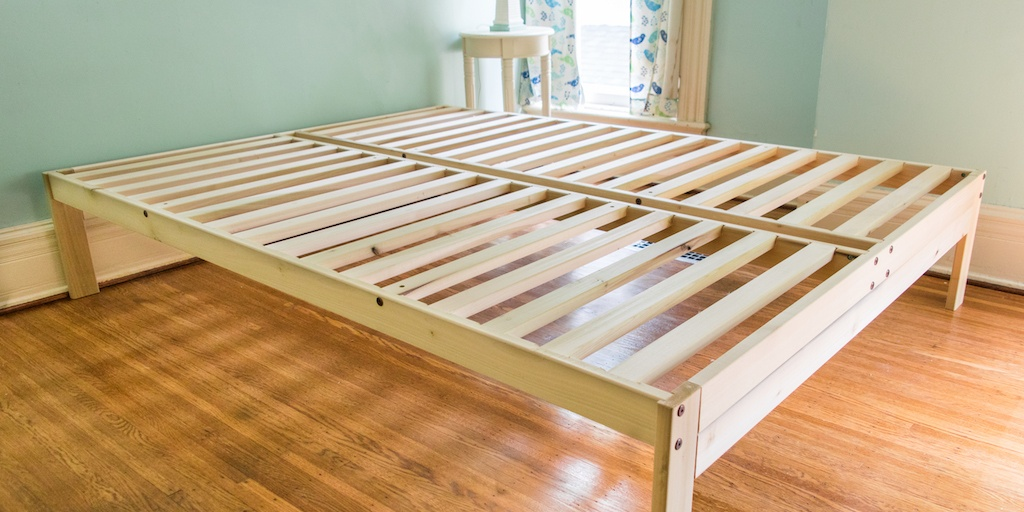 Chic Queen Bed Foundation Box The Best Platform Bed Frames Under 300 Reviews Wirecutter A