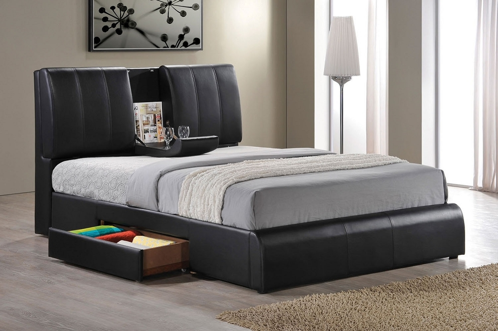 Chic Queen Size Bed Frame Find Out Suitable Queen Storage Bed Modern Storage Twin Bed Design