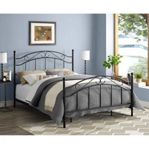 Chic Queen Size Headboard And Footboard Metal Bed Frame Queen Size Bedroom Furniture Headboard Footboard