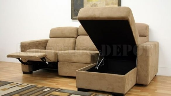 Chic Reclining Couch With Chaise Living Room Couch With Chaise And Recliner Sectional Sofas Photo