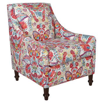 Chic Red Accent Chairs With Arms First Rate Red Accent Chair With Arms Best Floral Accent Chairs