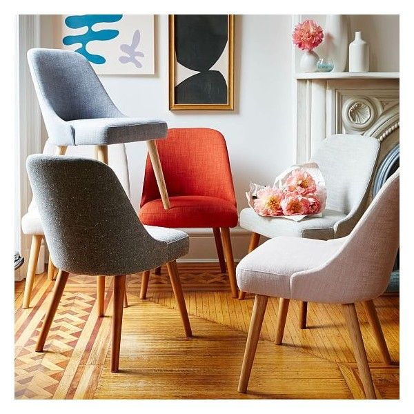 Chic Red Upholstered Dining Room Chairs Best 25 West Elm Dining Chairs Ideas On Pinterest Mid Century