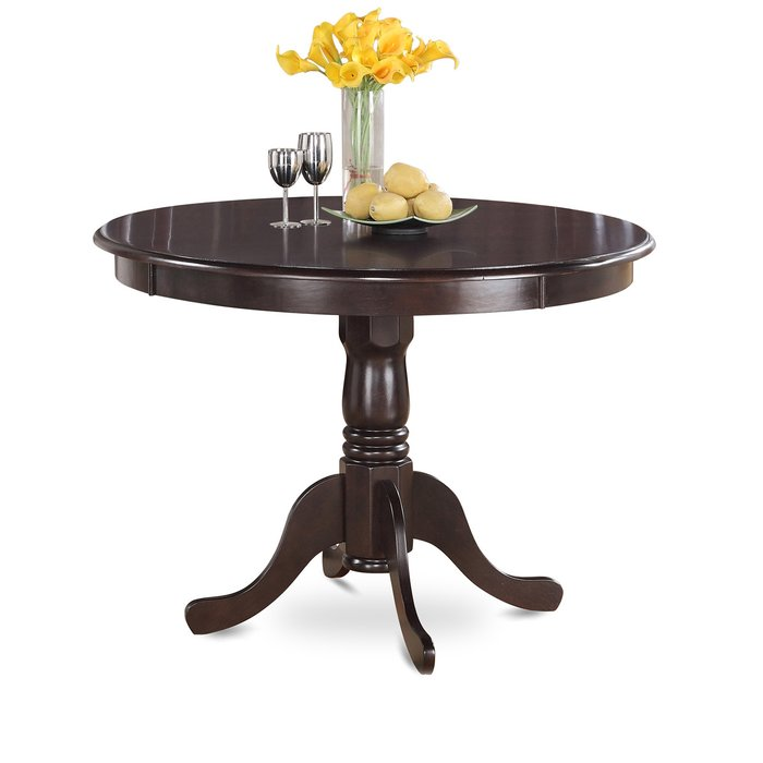 Chic Round Dining Table With Leaves Kitchen Dining Tables Youll Love Wayfair
