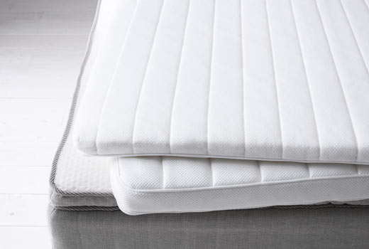 Chic Single Bed Mattress Topper Ikea Mattress Topper Create A Tiny Layer For Ultimate Luxury And