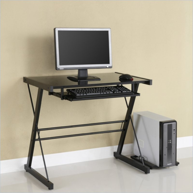 Chic Small Computer Desk Interesting Small Computer Desks With Single Storage Ruchi Designs