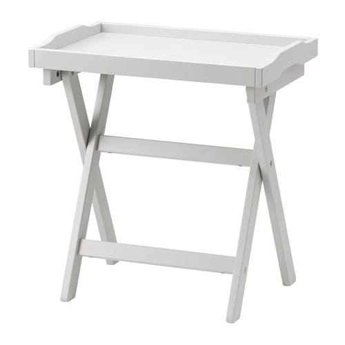 Chic Small Folding Table Ikea Maryd Tray Table Grey 58x38x58 Cm Ikea