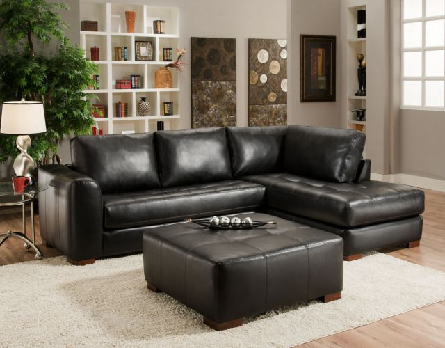 Chic Small Leather Sectional Couch Best 25 Leather Sectional Sofas Ideas On Pinterest Leather