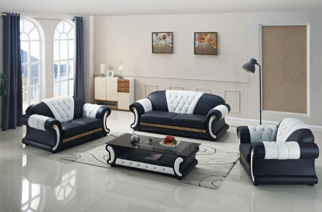 Chic Sofa Set Designs For Living Room Aliexpress Buy Sofa Set Living Room Furniture With Genuine
