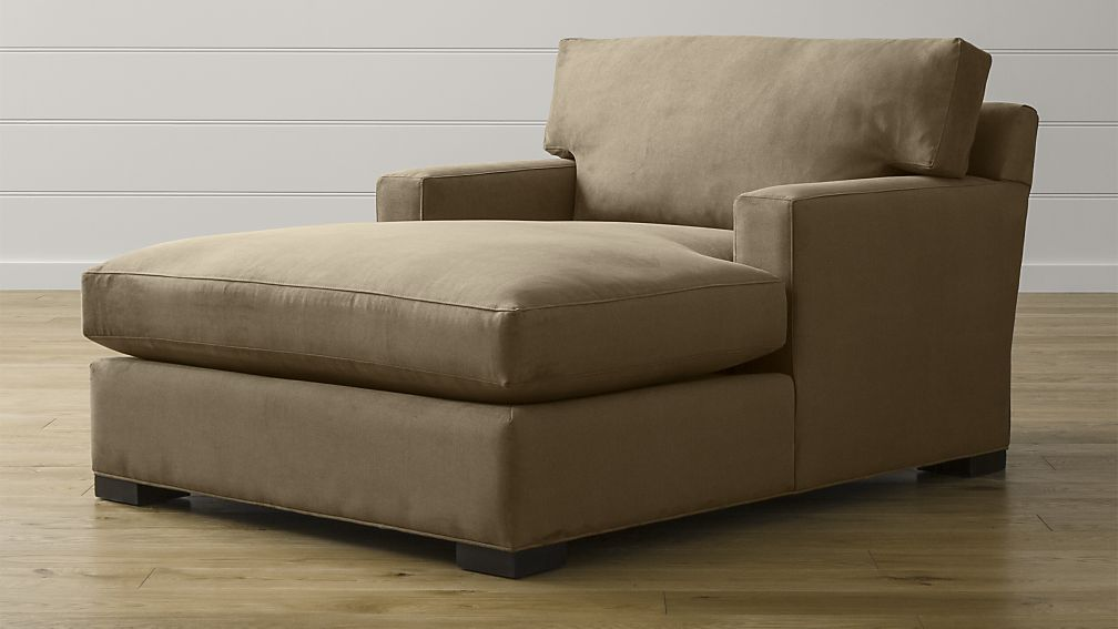 Chic Sofa With Double Chaise Lounge Axis Ii Indoor Chaise Lounge Chair Crate And Barrel