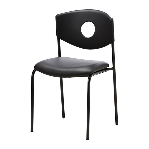 Chic Stackable Chairs Ikea Stoljan Conference Chair Blackblack Ikea