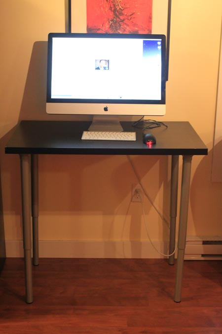 Chic Stand Up Computer Desk Ikea Impressive Stand Up Table Ikea The 100 Dollar Stand Up Ikea Desk