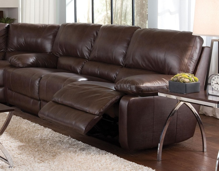 Chic Top Grain Leather Sofa Gorgeous Top Grain Leather Sofa Recliner United Leather El Dorado