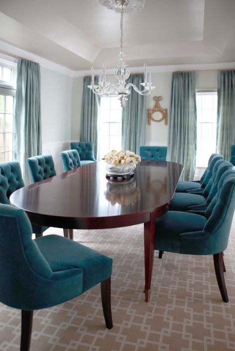 Chic Turquoise Dining Room Chairs Best 25 Teal Dining Rooms Ideas On Pinterest Teal Dining Room