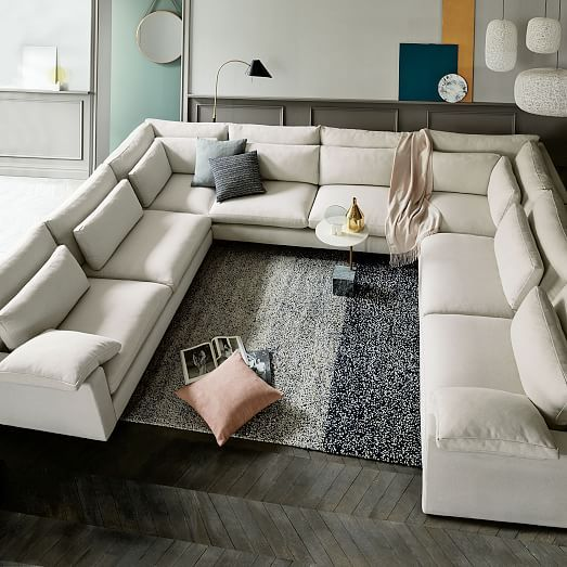 Chic U Shaped Sectional Couch Best 25 U Shaped Sectional Ideas On Pinterest U Shaped Couch U