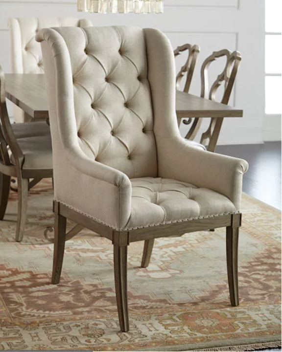 Chic Upholstered Dining End Chairs Get The Look For Less Five High End Dining Chair Styles You Could