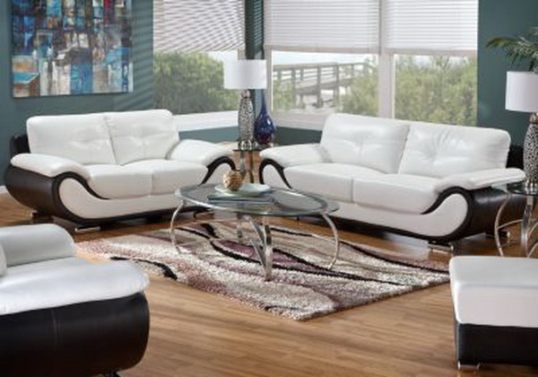 Chic White Leather Living Room Chairs Beautiful Decoration White Leather Living Room Sets Extraordinary
